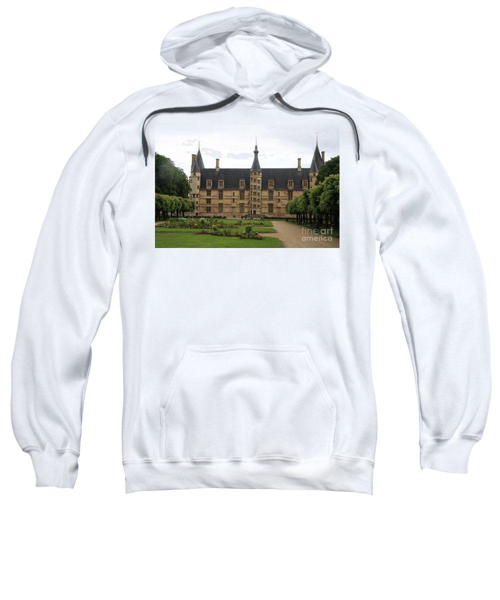 Palace Sweatshirt featuring the photograph Ducal Palace Nevers by Christiane Schulze Art And Photography
