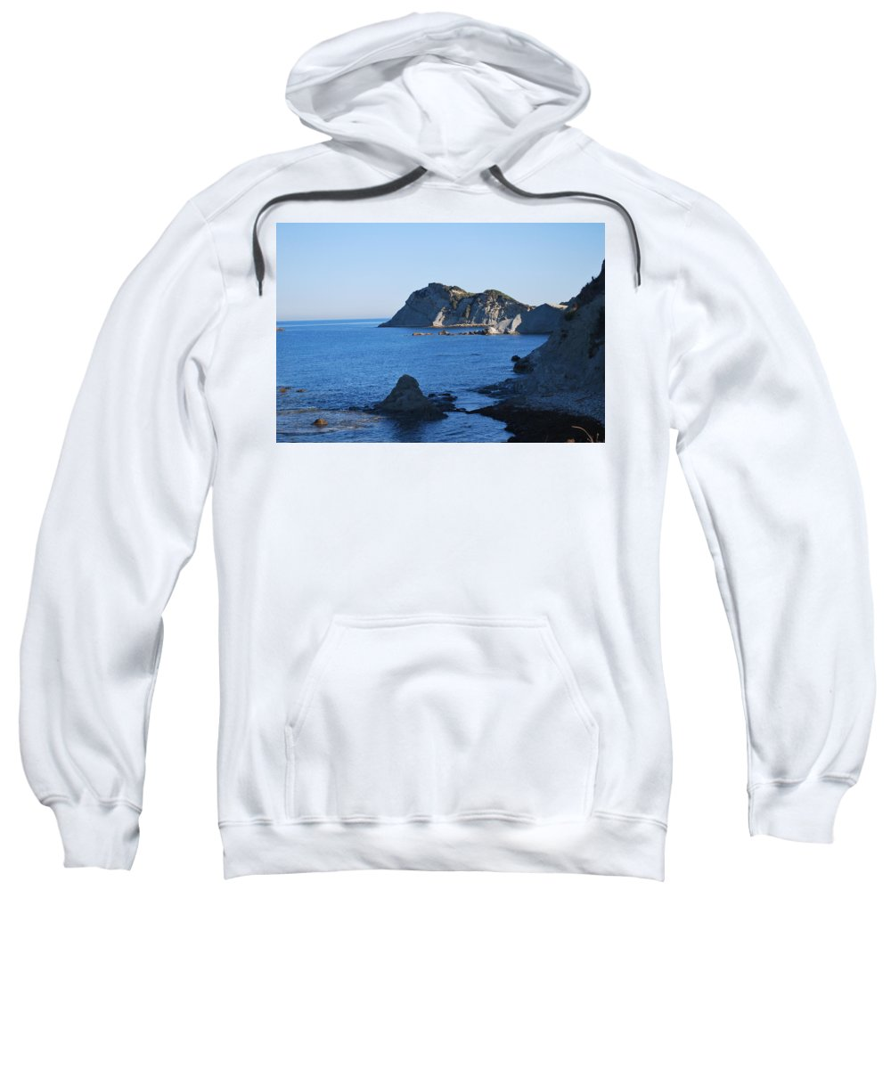 Early Morning Sweatshirt featuring the photograph Early Morning by George Katechis