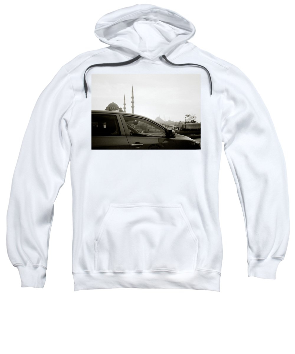 Istanbul Sweatshirt featuring the photograph Eminonu Life by Shaun Higson