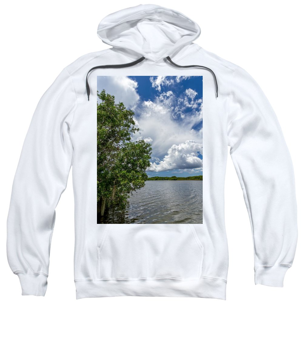 Everglades Sweatshirt featuring the photograph Everglades 0266 by Rudy Umans
