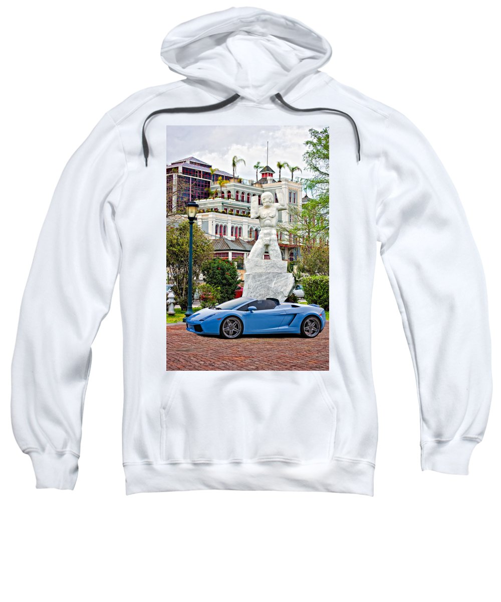 Mississippi River Sweatshirt featuring the photograph Exotic New Orleans by Steve Harrington