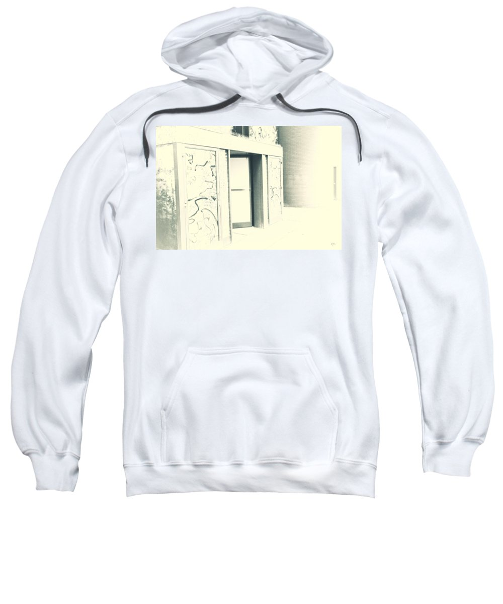 Faded Sweatshirt featuring the photograph Faded Away by Karol Livote