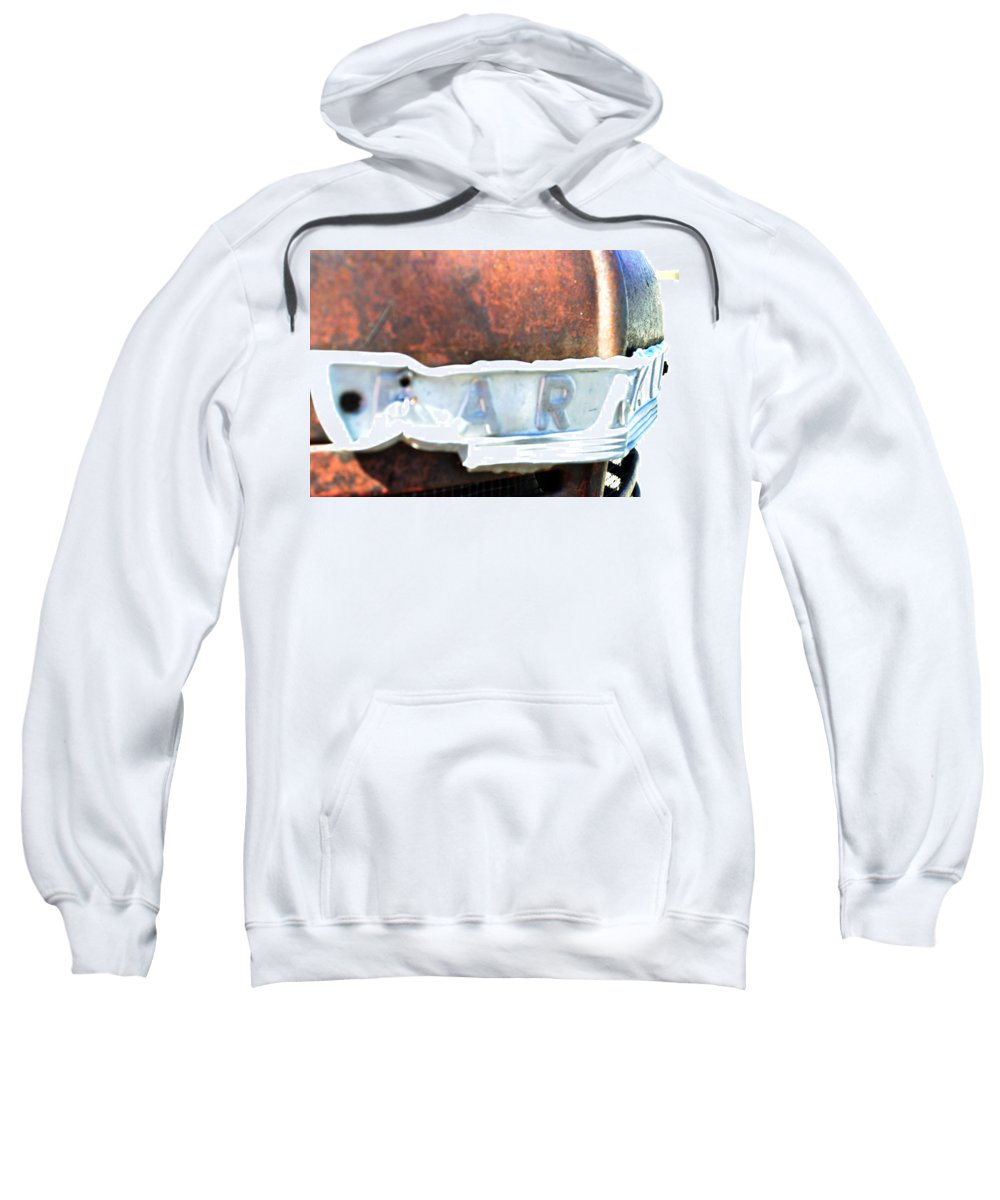 Country Sweatshirt featuring the photograph Farmall by Pam Romjue