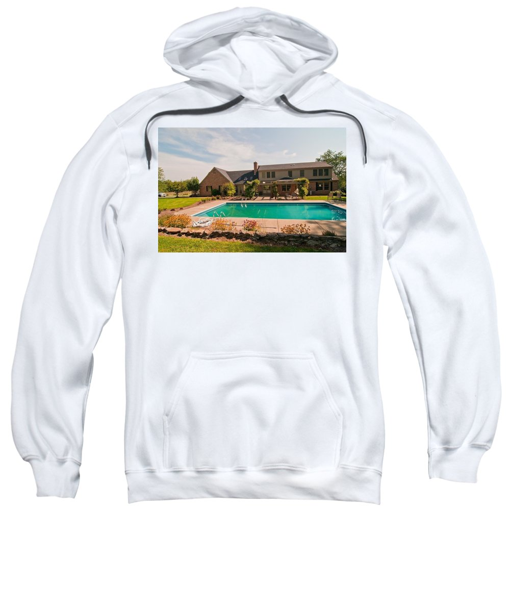 Sweatshirt featuring the photograph Fifteen by Randall Branham