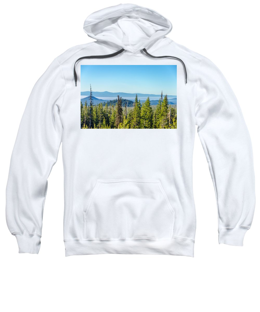 Forest Sweatshirt featuring the photograph Forest Landscape by Jess Kraft