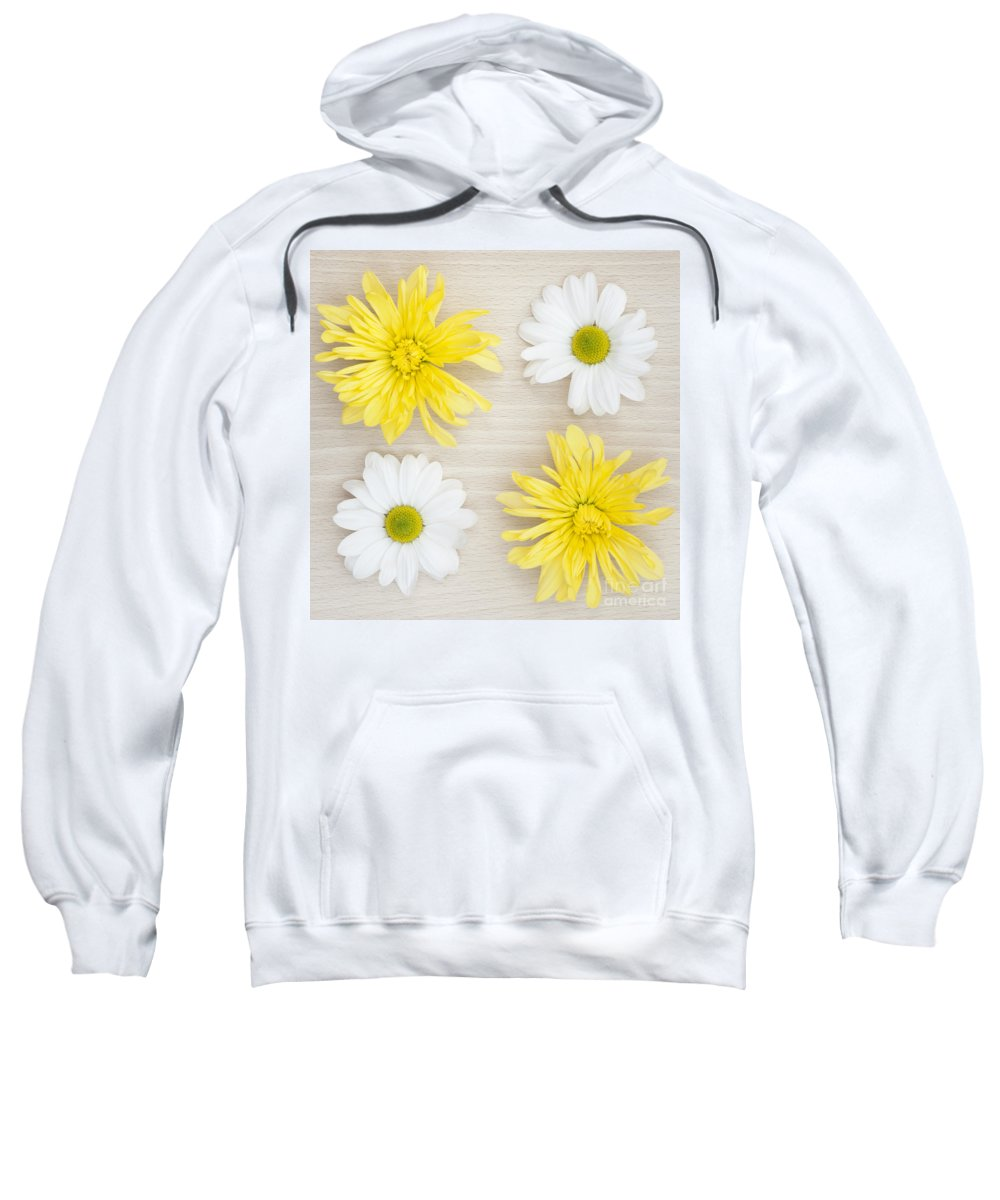 4 Sweatshirt featuring the photograph Four by Anne Gilbert