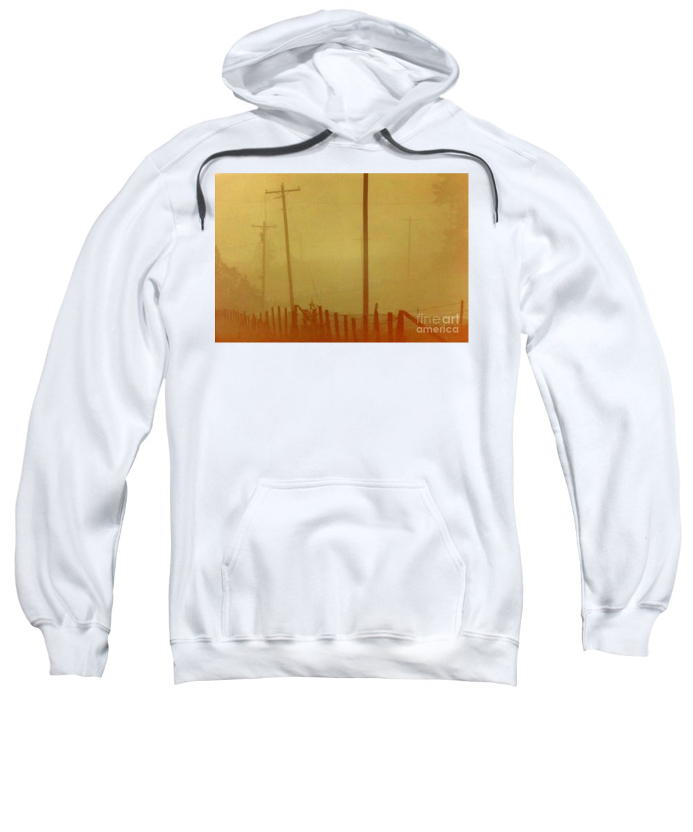 Fog Sweatshirt featuring the photograph Mississippi Ghostly Morning by Michael Hoard