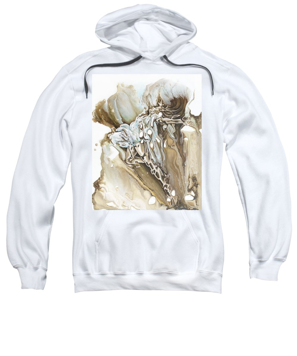 Give Sweatshirt featuring the painting Give by Karina Llergo