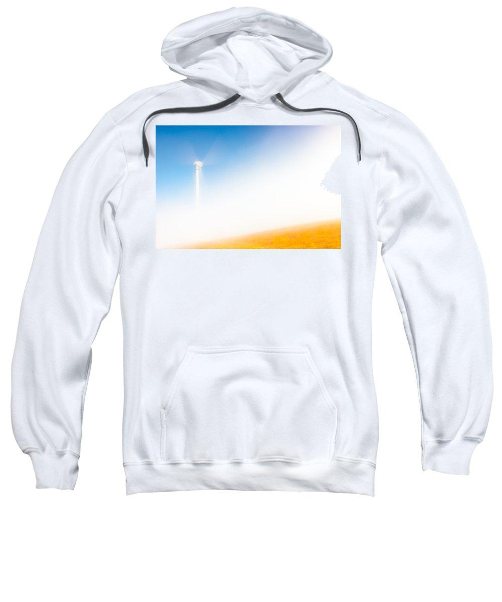 Wind Mill Sweatshirt featuring the photograph Good Wind by Edgar Laureano
