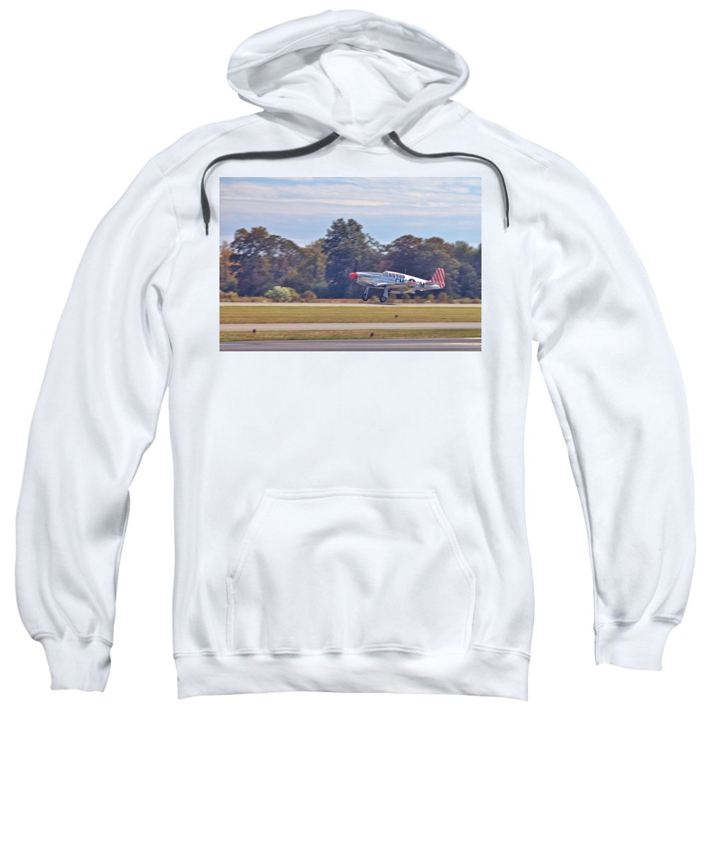 9198 Sweatshirt featuring the photograph Greaser by Gordon Elwell