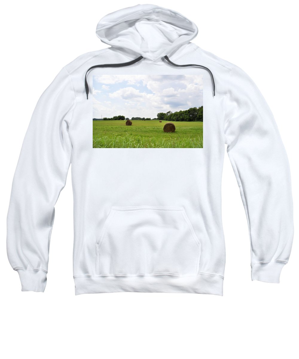 Hay Sweatshirt featuring the photograph HAY by Verana Stark