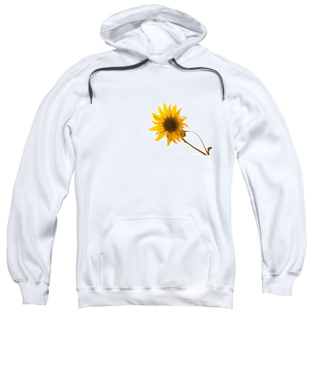California Sweatshirt featuring the photograph Hello Yellow by Peter Tellone