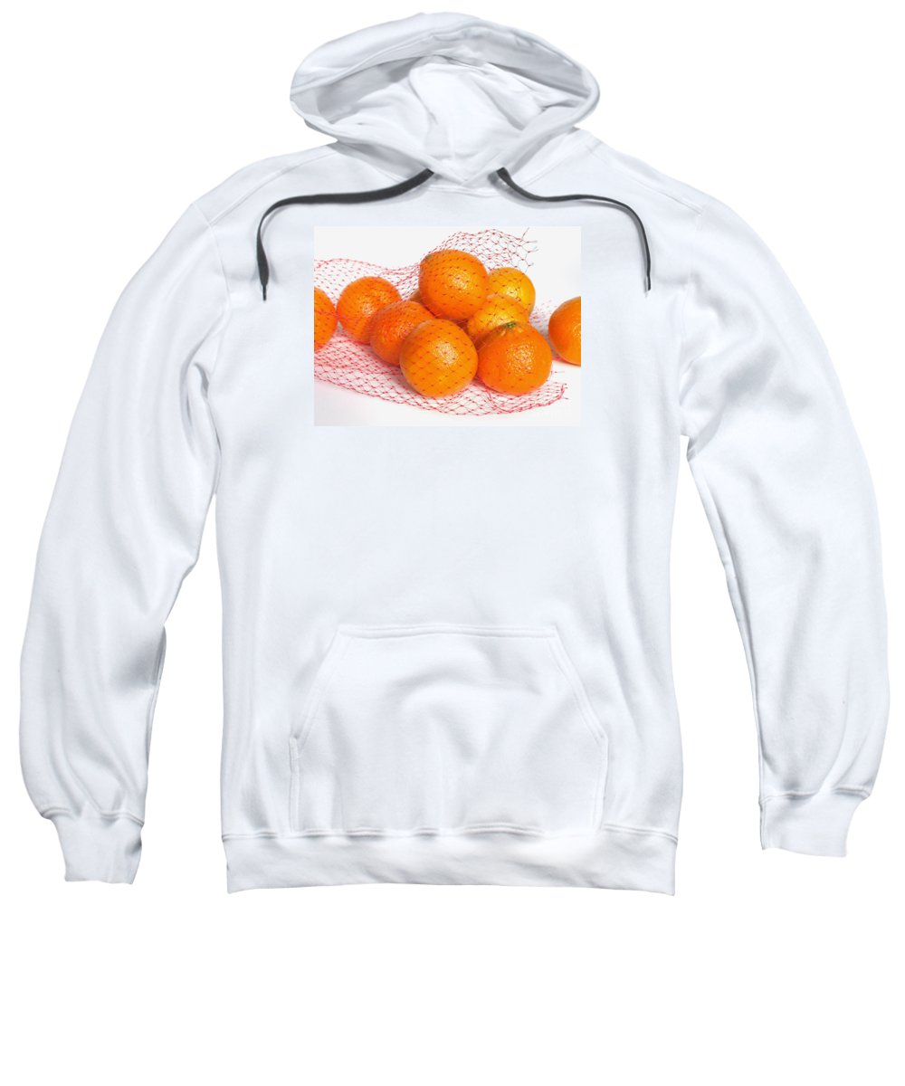 Oranges Sweatshirt featuring the photograph Help Yourself by Ann Horn
