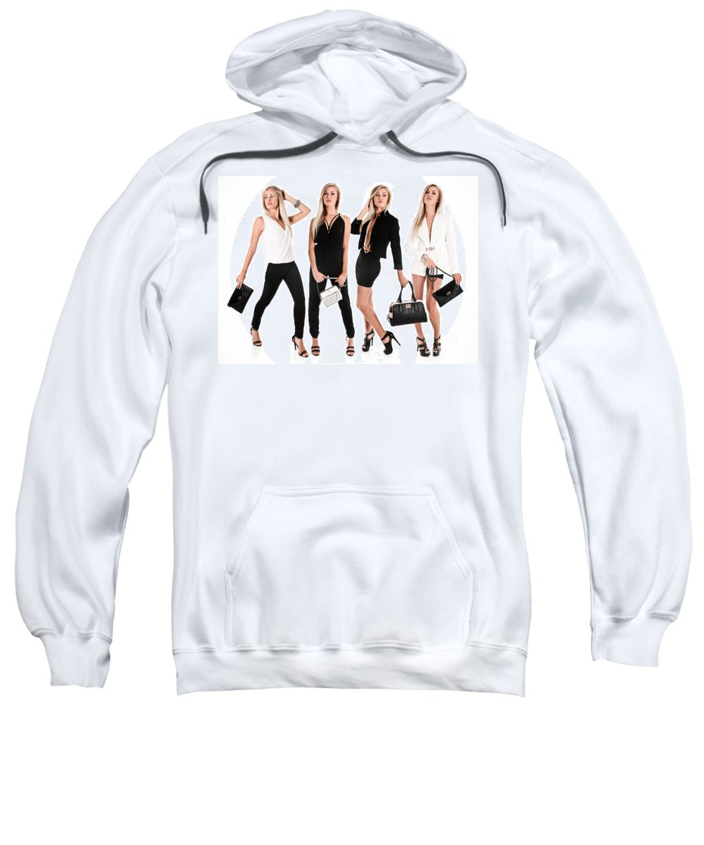 Fashion Sweatshirt featuring the photograph High Fashion by Jt PhotoDesign