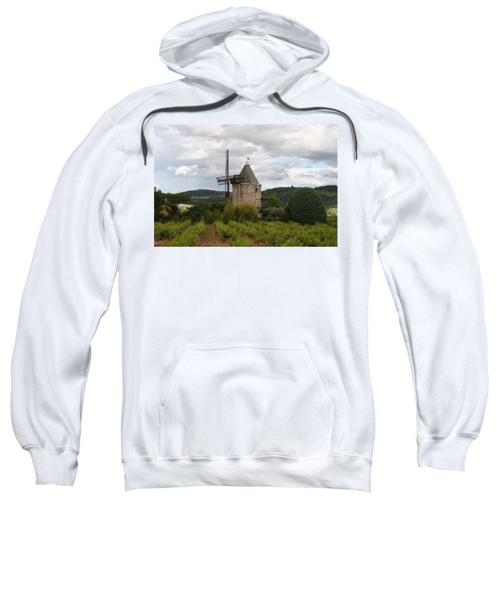 Mill Sweatshirt featuring the photograph Historic Windmill by Christiane Schulze Art And Photography