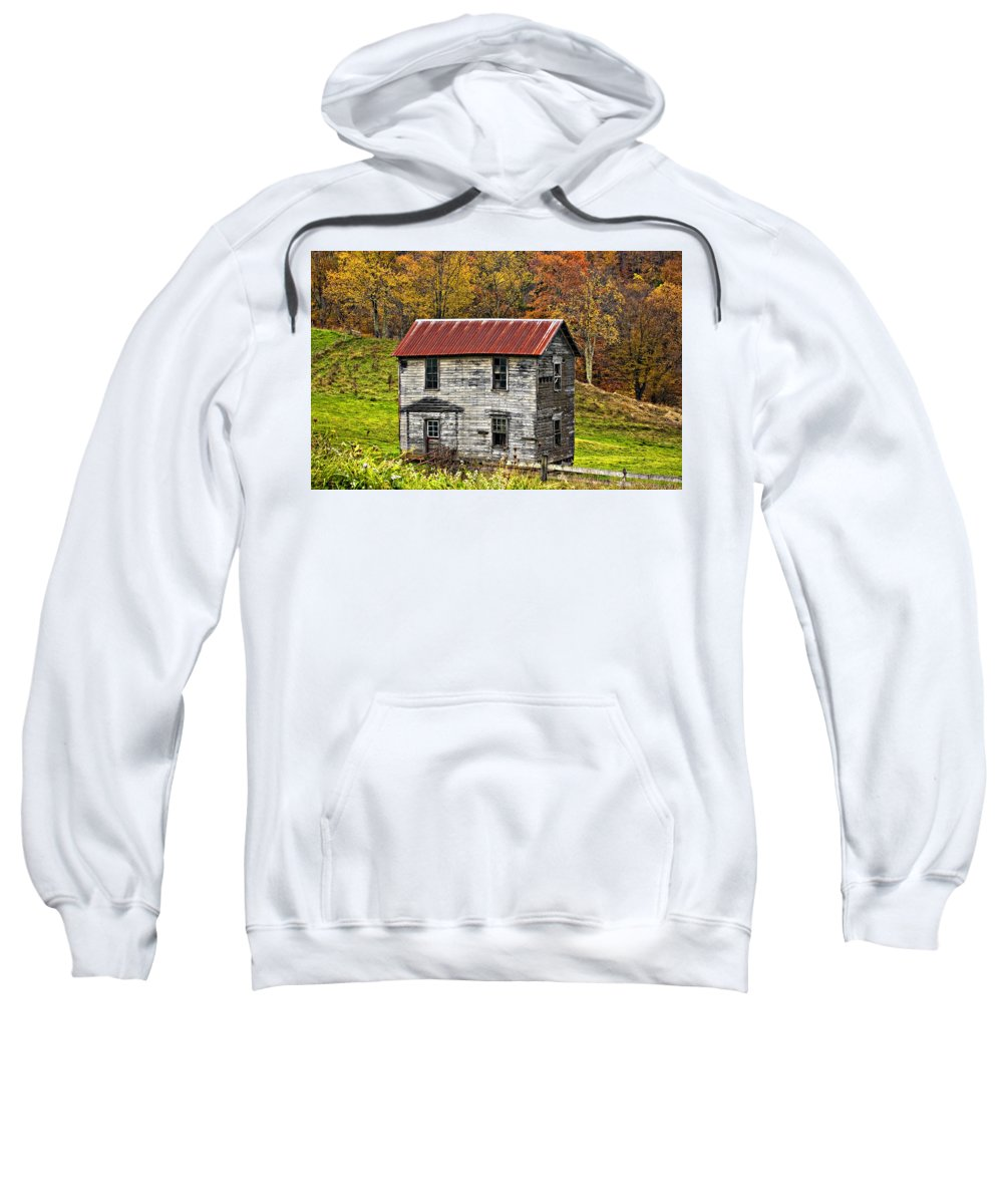 Glady Sweatshirt featuring the photograph If These Walls Could Talk by Steve Harrington