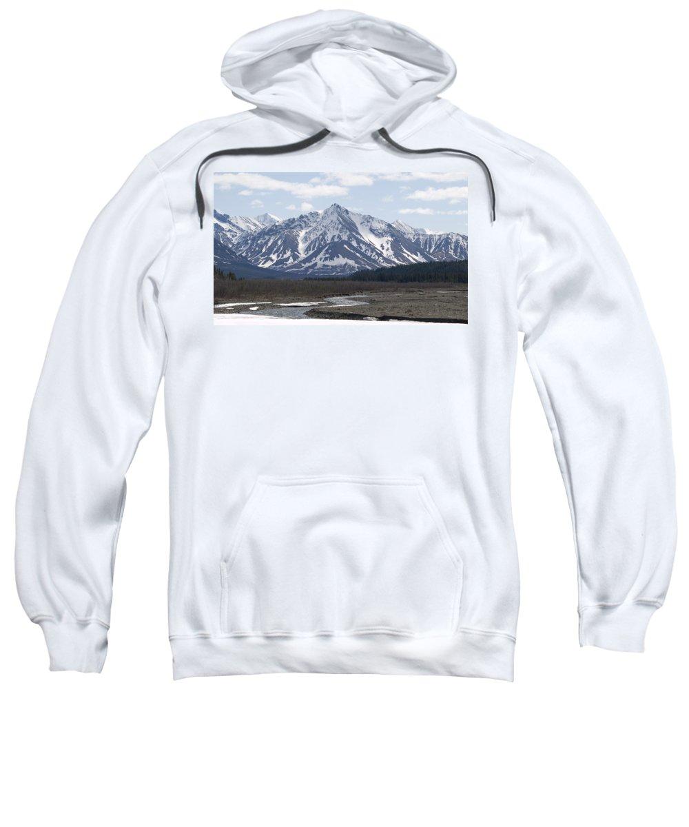 Denali National Park Sweatshirt featuring the photograph Inside Denali National Park 4 by Tara Lynn
