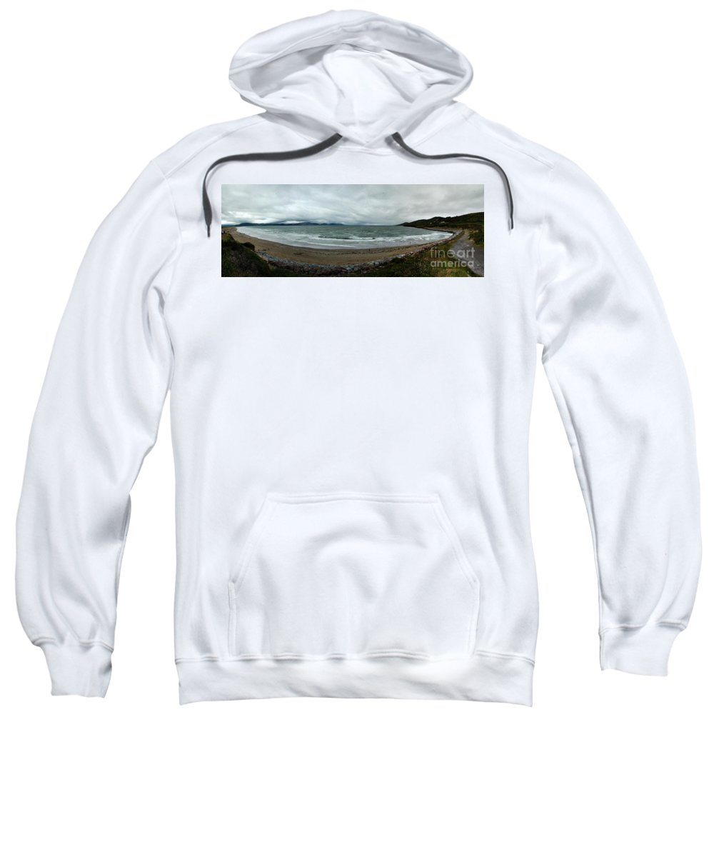 Atlantic Ocean Sweatshirt featuring the photograph Ireland Atlantic Ocean by Matt Zerbe