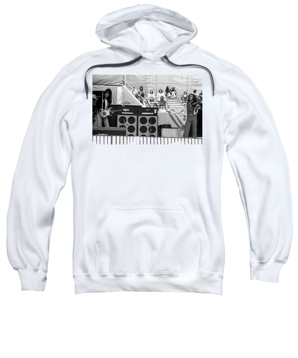 Jeff Beck Sweatshirt featuring the photograph Jb #10 by Ben Upham