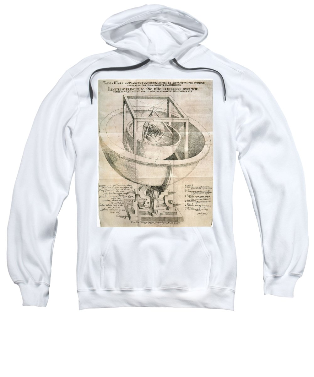1596 Sweatshirt featuring the photograph Keplers Universe, 1596 by Granger