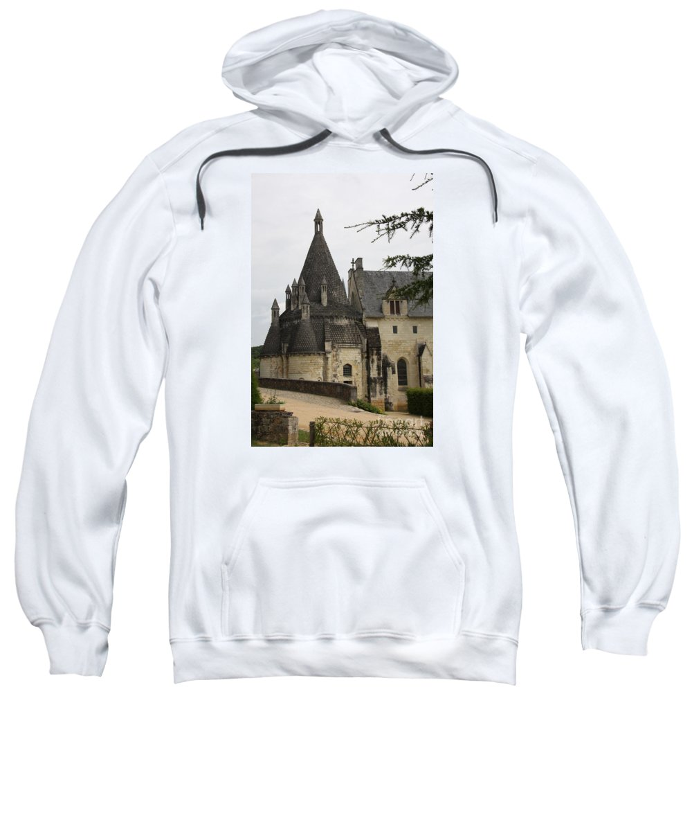 Kitchen Sweatshirt featuring the photograph Kitchenbuilding - Fontevraud by Christiane Schulze Art And Photography