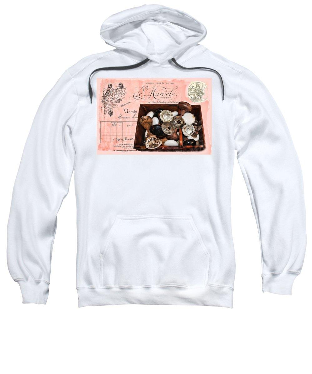 Knob Sweatshirt featuring the photograph Knob Hill 02 by Sylvia Thornton