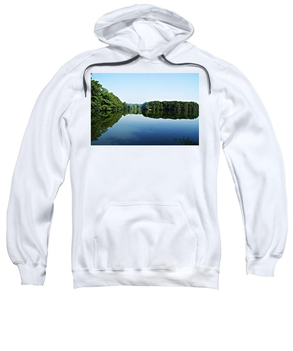 Lagoon Sweatshirt featuring the photograph Lagoon II by Joe Faherty