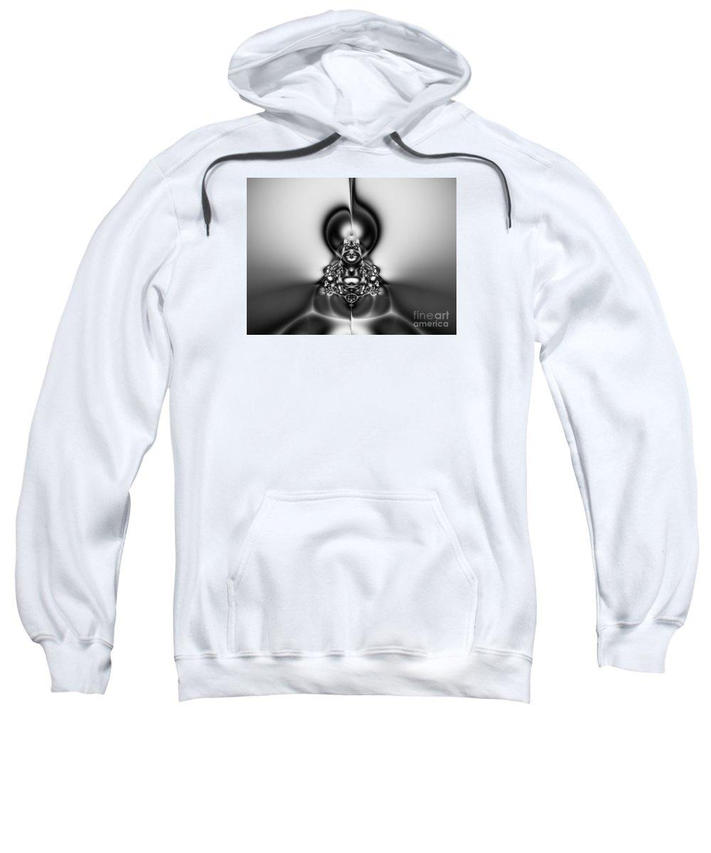 Art Sweatshirt featuring the digital art Law Of Superposition by Peter R Nicholls