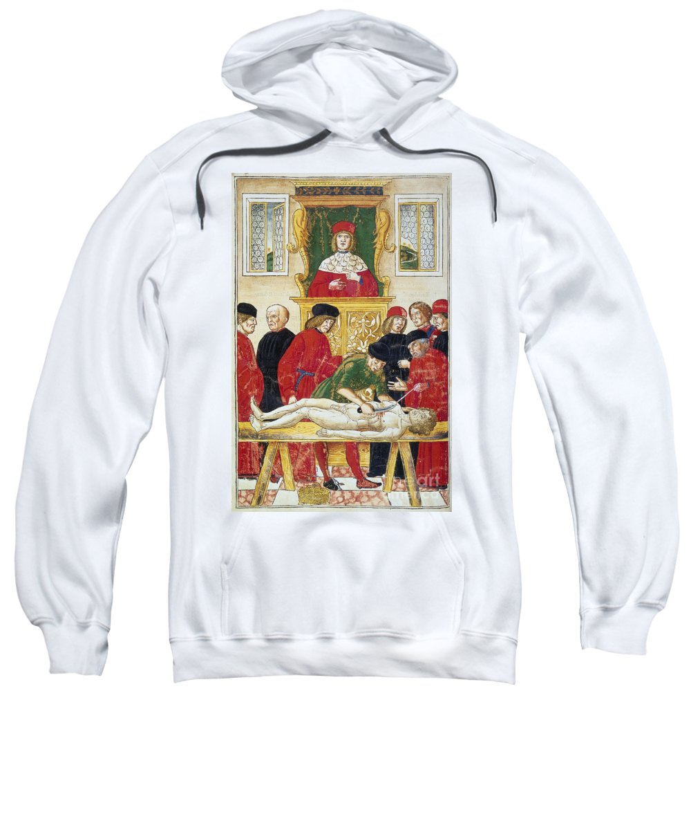 1493 Sweatshirt featuring the photograph Lesson In Dissection by Granger