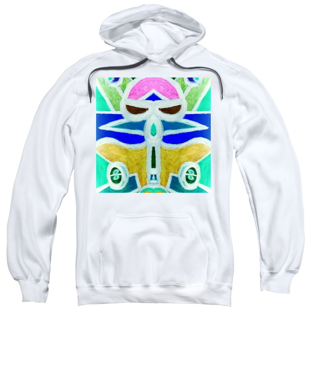 Planes Sweatshirt featuring the digital art Let's Ride by Lady Ex