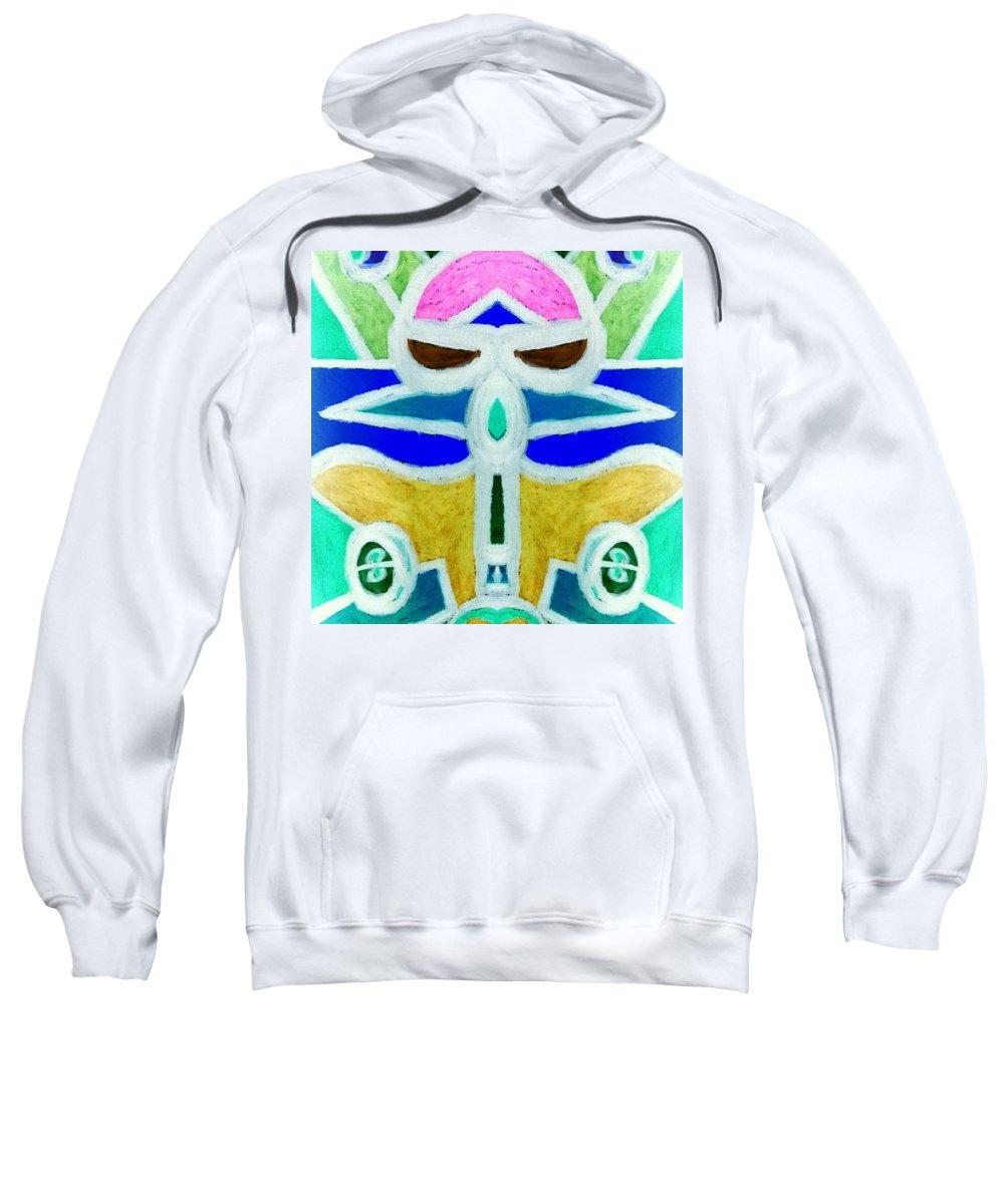 Planes Sweatshirt featuring the digital art Let's Ride by Tina Vaughn