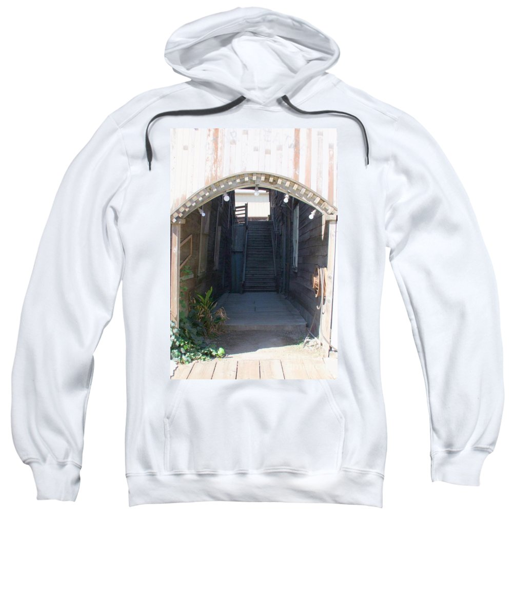 Buildings Sweatshirt featuring the photograph Locke Chinatown Series - Star Theatre - 2 by Mary Deal