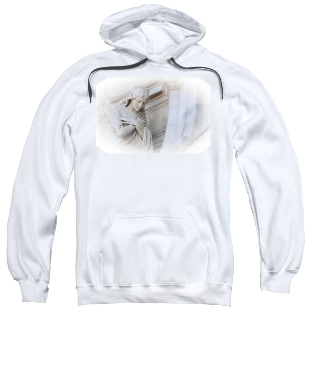Angel Sweatshirt featuring the photograph Loving Angel by Kathleen Struckle