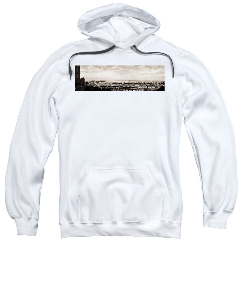 Lyon Sweatshirt featuring the photograph Lyon From The Basilique De Fourviere by Paulette B Wright