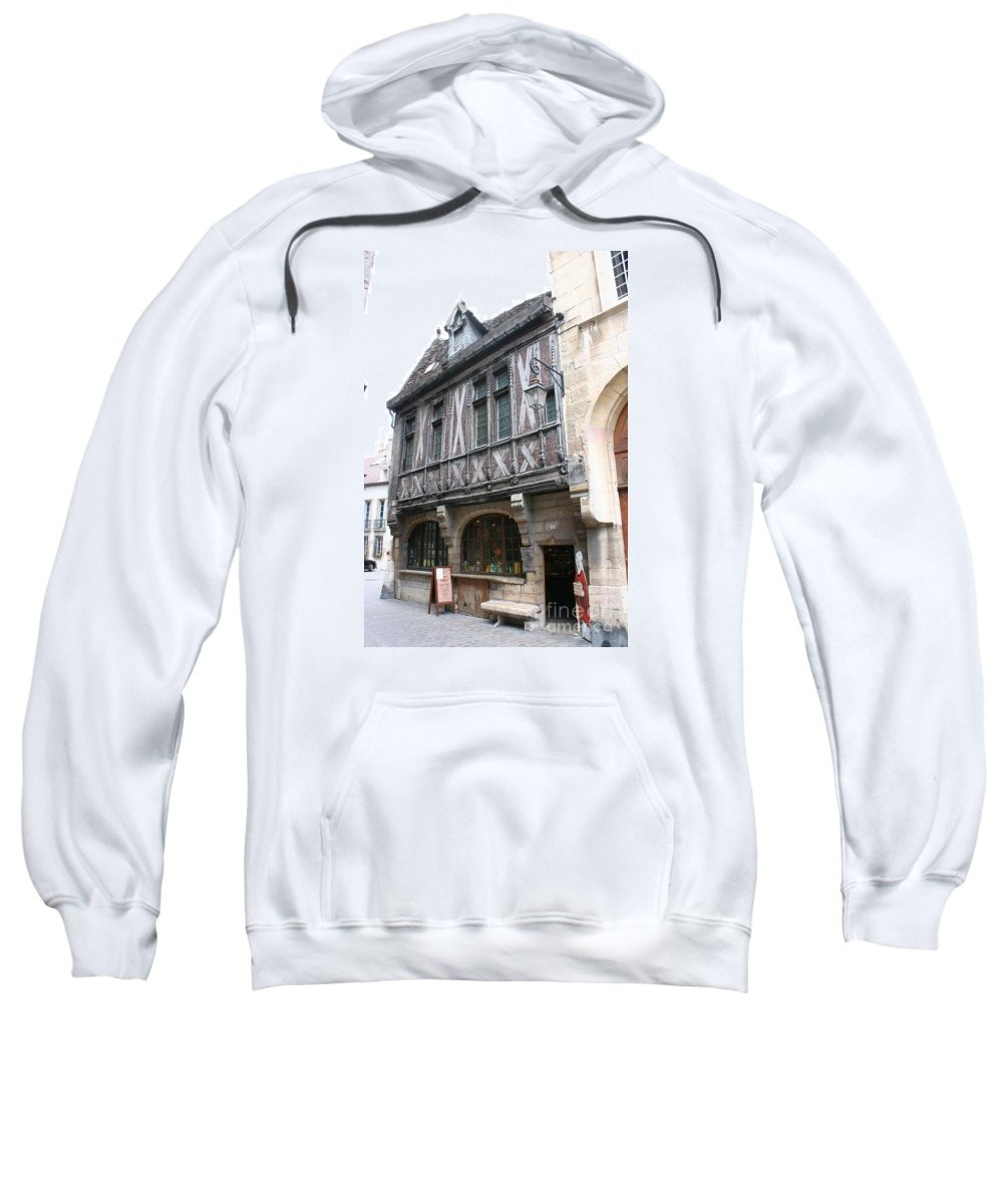 House Sweatshirt featuring the photograph Maison Milliere - Dijon - France by Christiane Schulze Art And Photography
