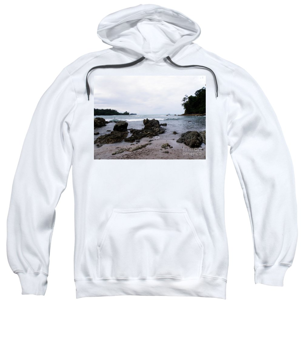 Manuel Antonio Sweatshirt featuring the photograph Manuel Antonio by DejaVu Designs