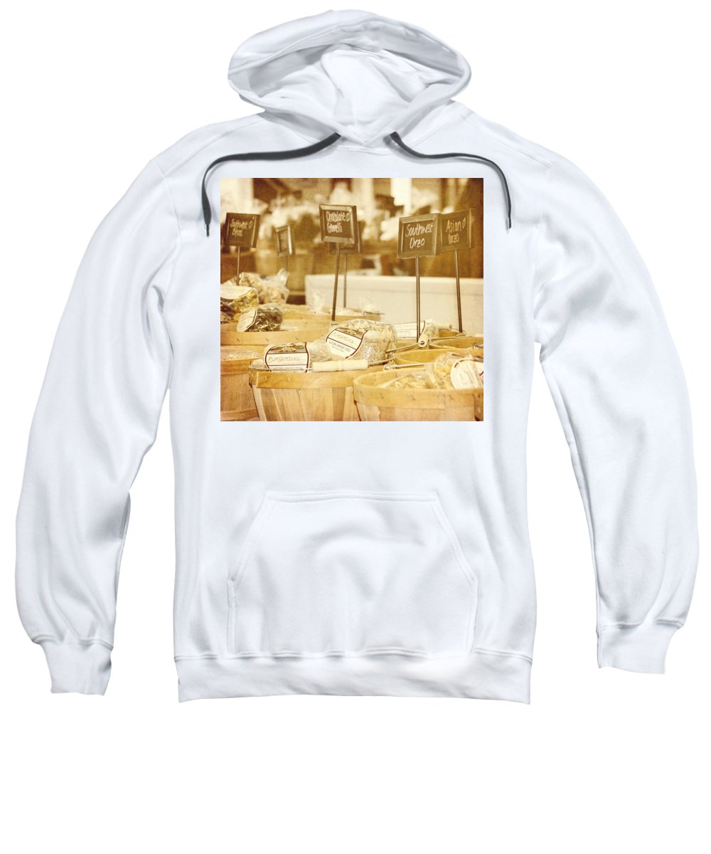 Food Sweatshirt featuring the photograph Market Day by Kim Hojnacki