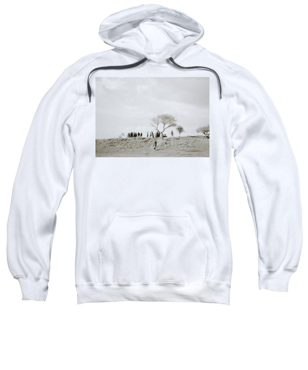 Masai Mara Sweatshirt featuring the photograph Iconic Africa by Shaun Higson