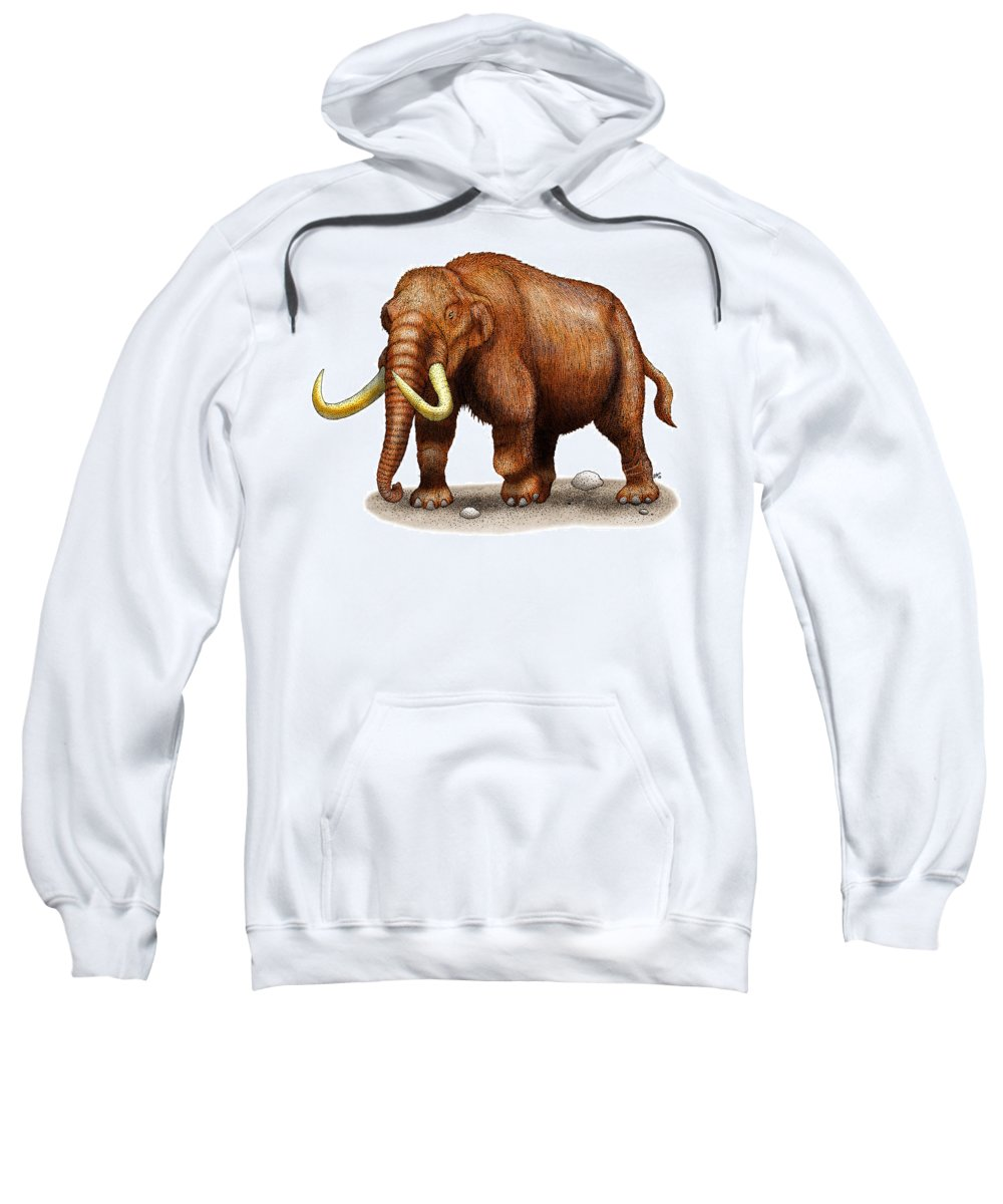 Mastodon Sweatshirt featuring the photograph Mastodon by Roger Hall