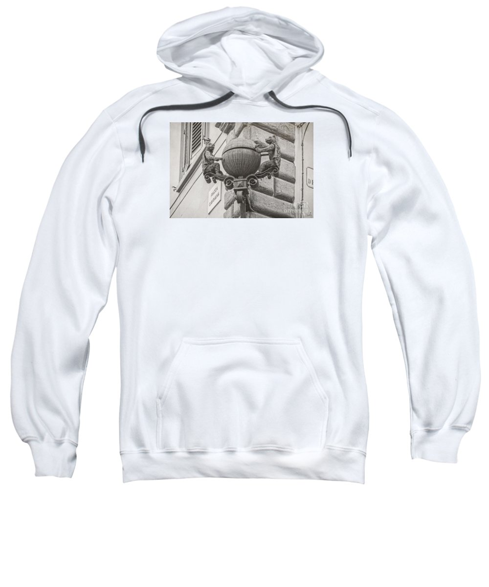 Medieval Alarm Sweatshirt featuring the photograph Medieval Alarm by Prints of Italy