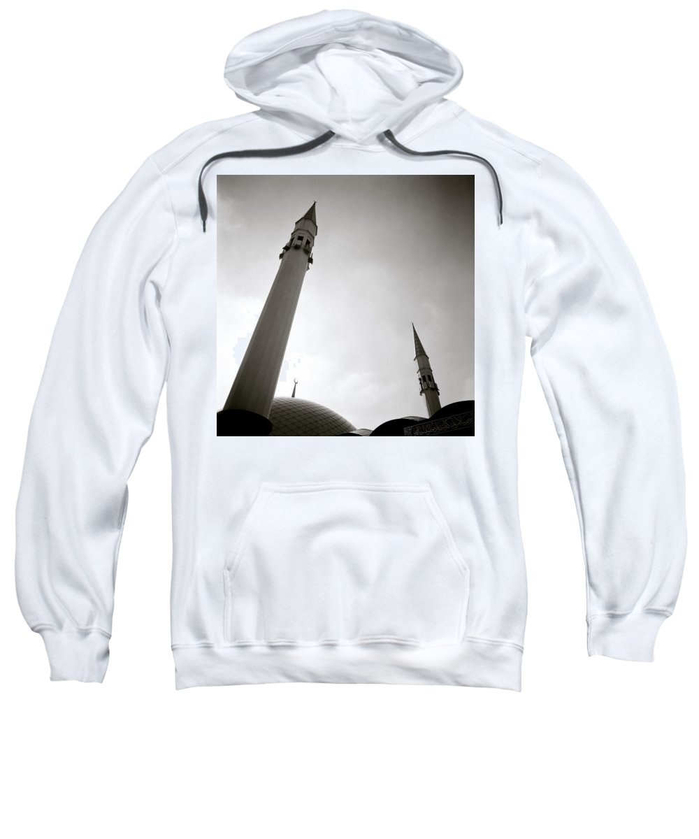 Sunset Sweatshirt featuring the photograph Minarets At Dusk by Shaun Higson