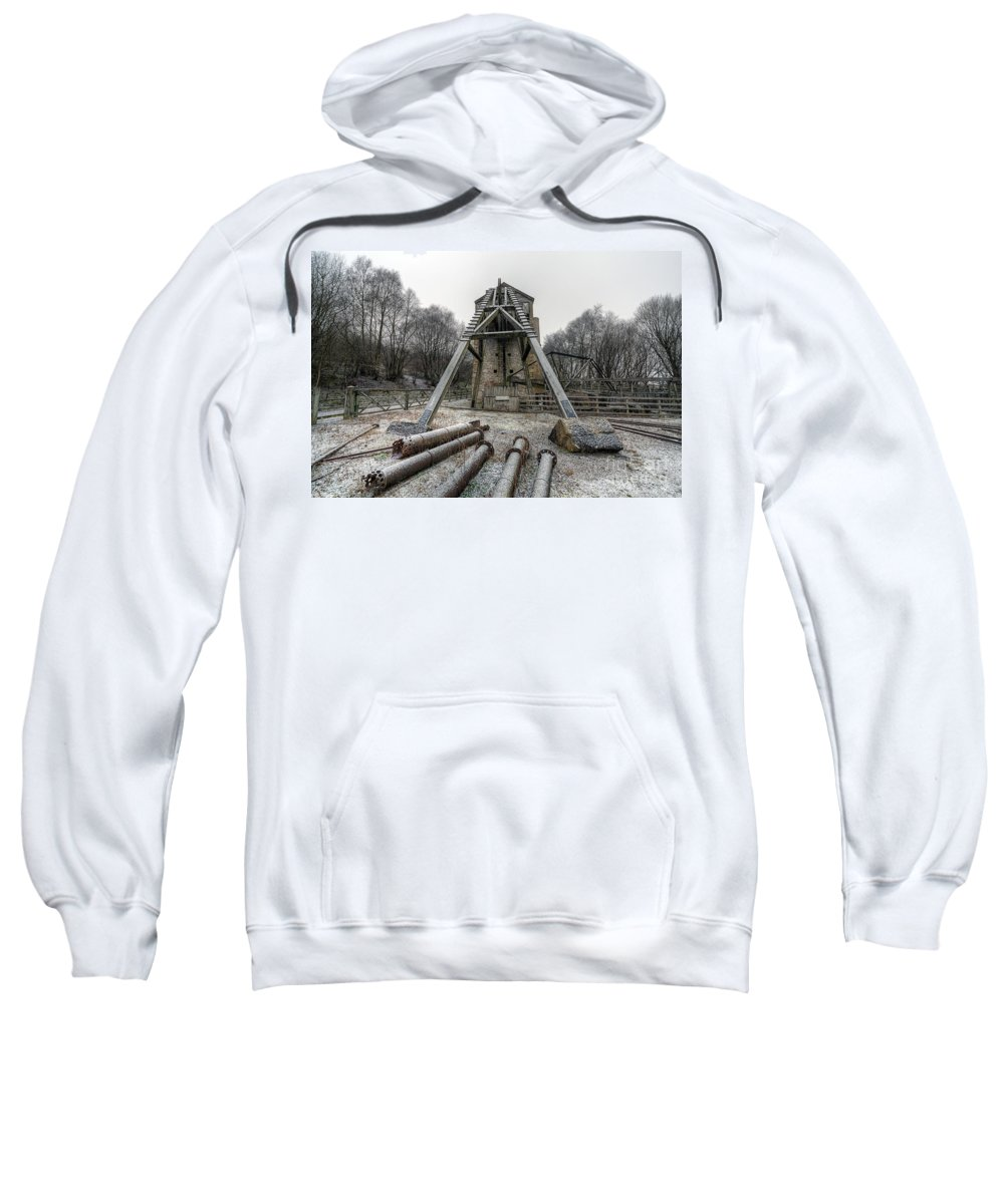 1296 Sweatshirt featuring the photograph Minera Lead Mines by Adrian Evans