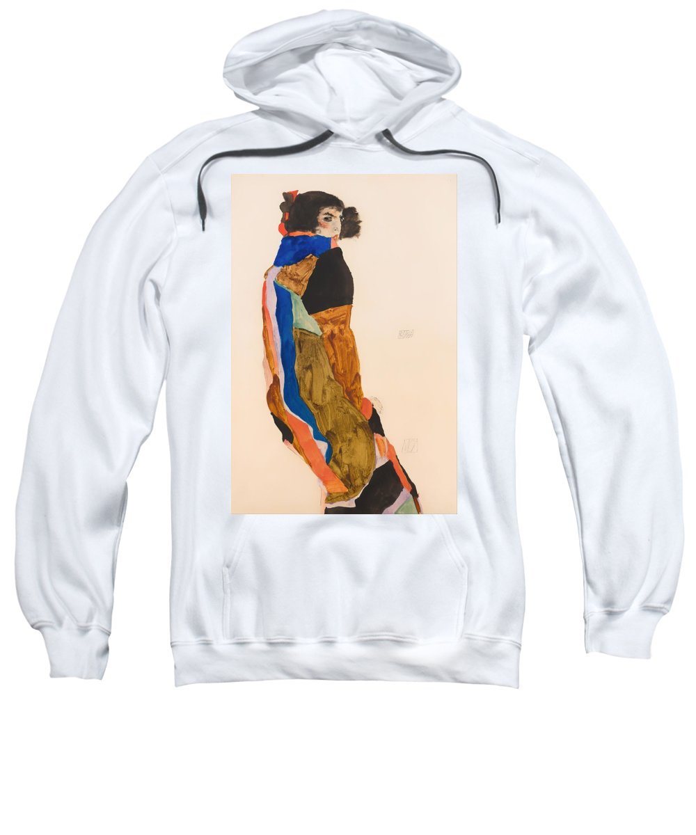 Painting Sweatshirt featuring the painting Moa by Mountain Dreams