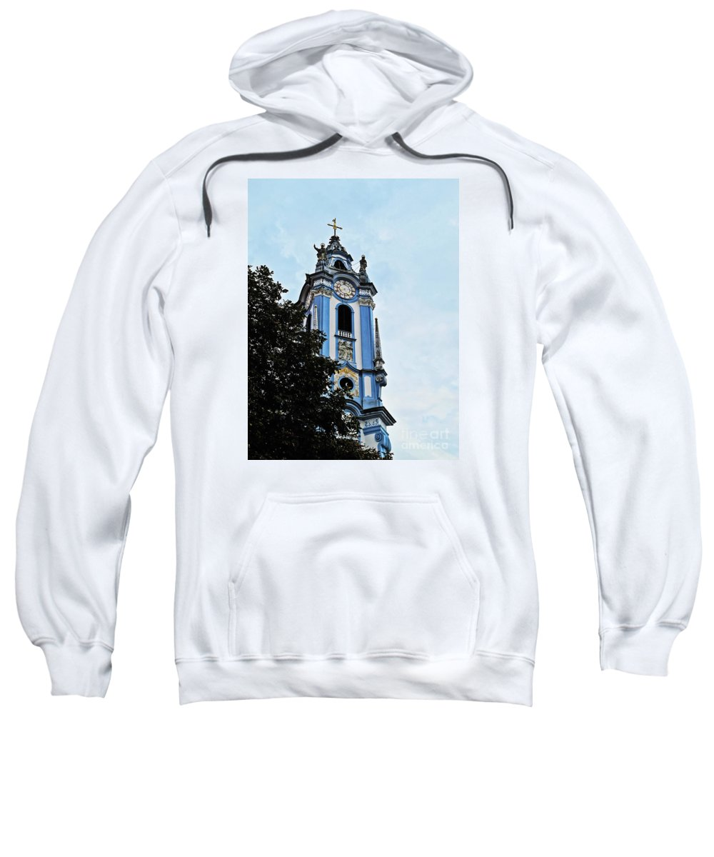 Travel Sweatshirt featuring the photograph Monastic Church by Elvis Vaughn