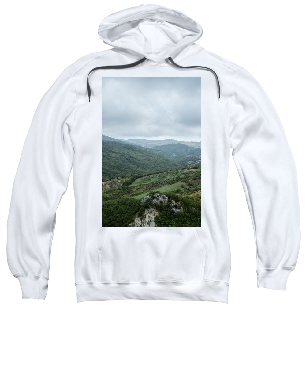 Landscape Sweatshirt featuring the photograph Mountain Landscape Of Italy by Andrea Mazzocchetti