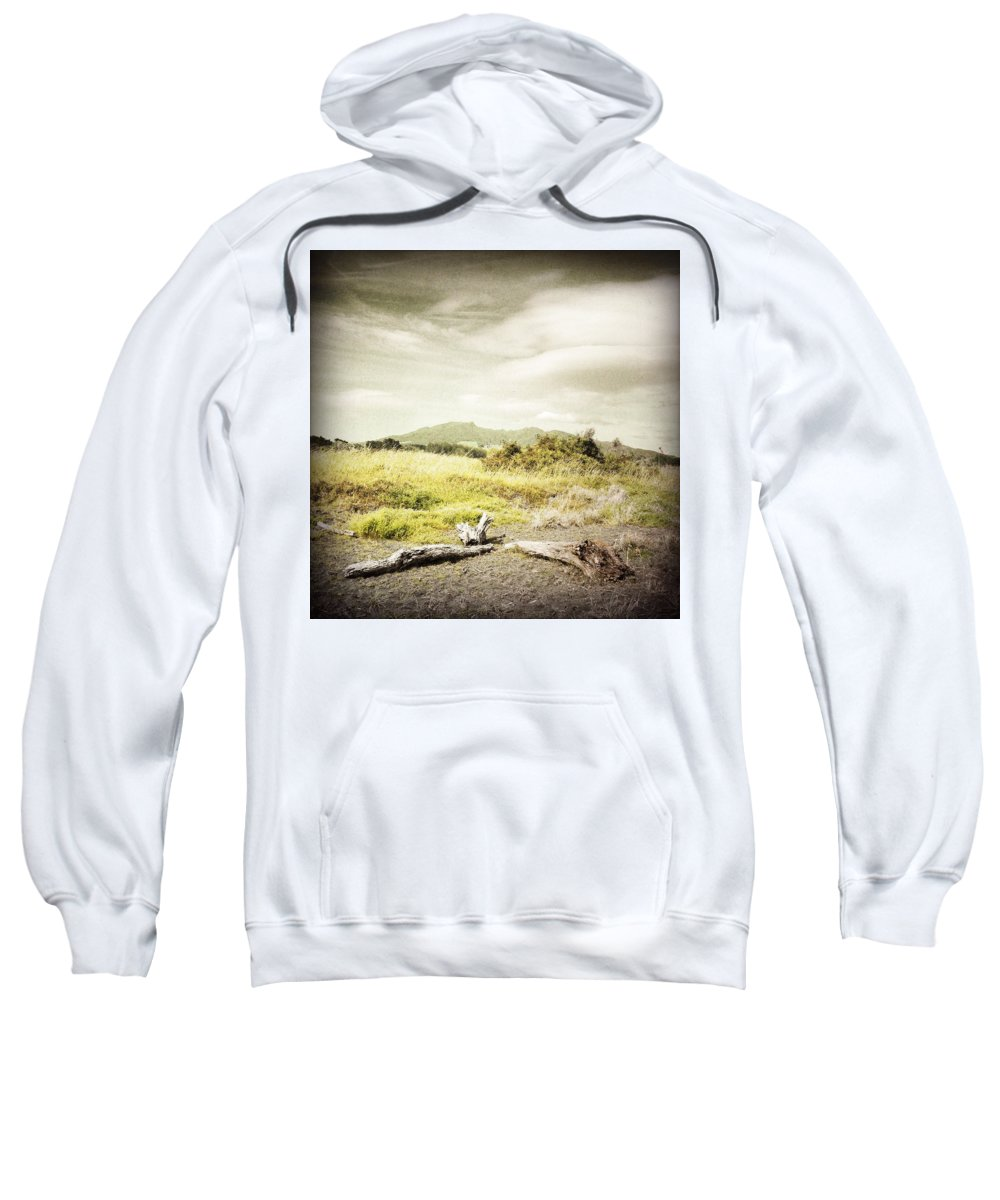 Beauty Sweatshirt featuring the photograph Mountain by Les Cunliffe