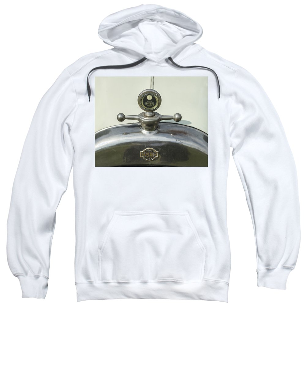 Glenmoor Sweatshirt featuring the photograph Nash Six by Jack R Perry