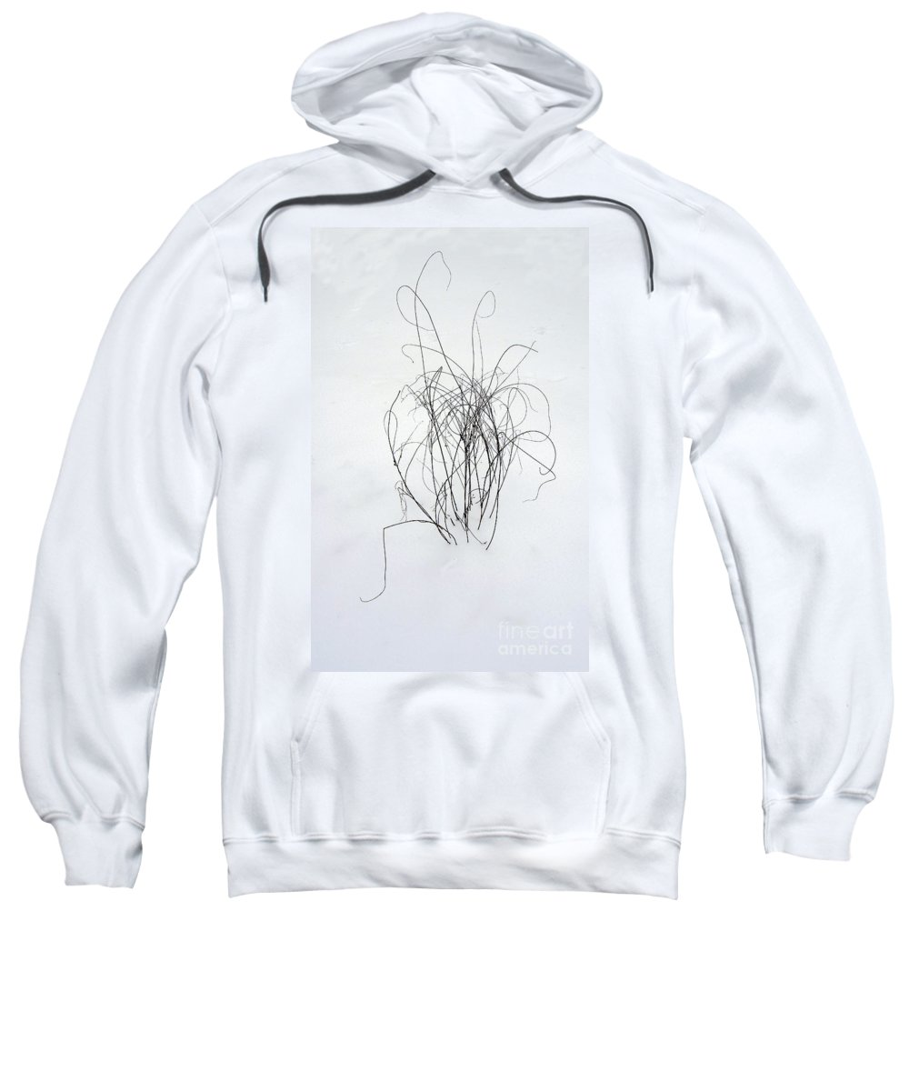 Scenic Tours Sweatshirt featuring the photograph Nature Scribbles by Skip Willits