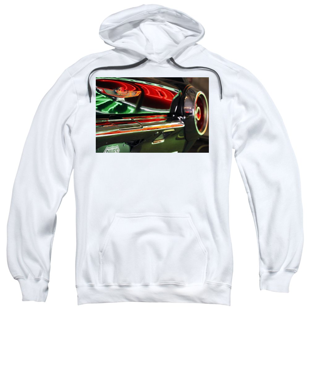 Neon Sweatshirt featuring the photograph Neon Reflections by Shoal Hollingsworth