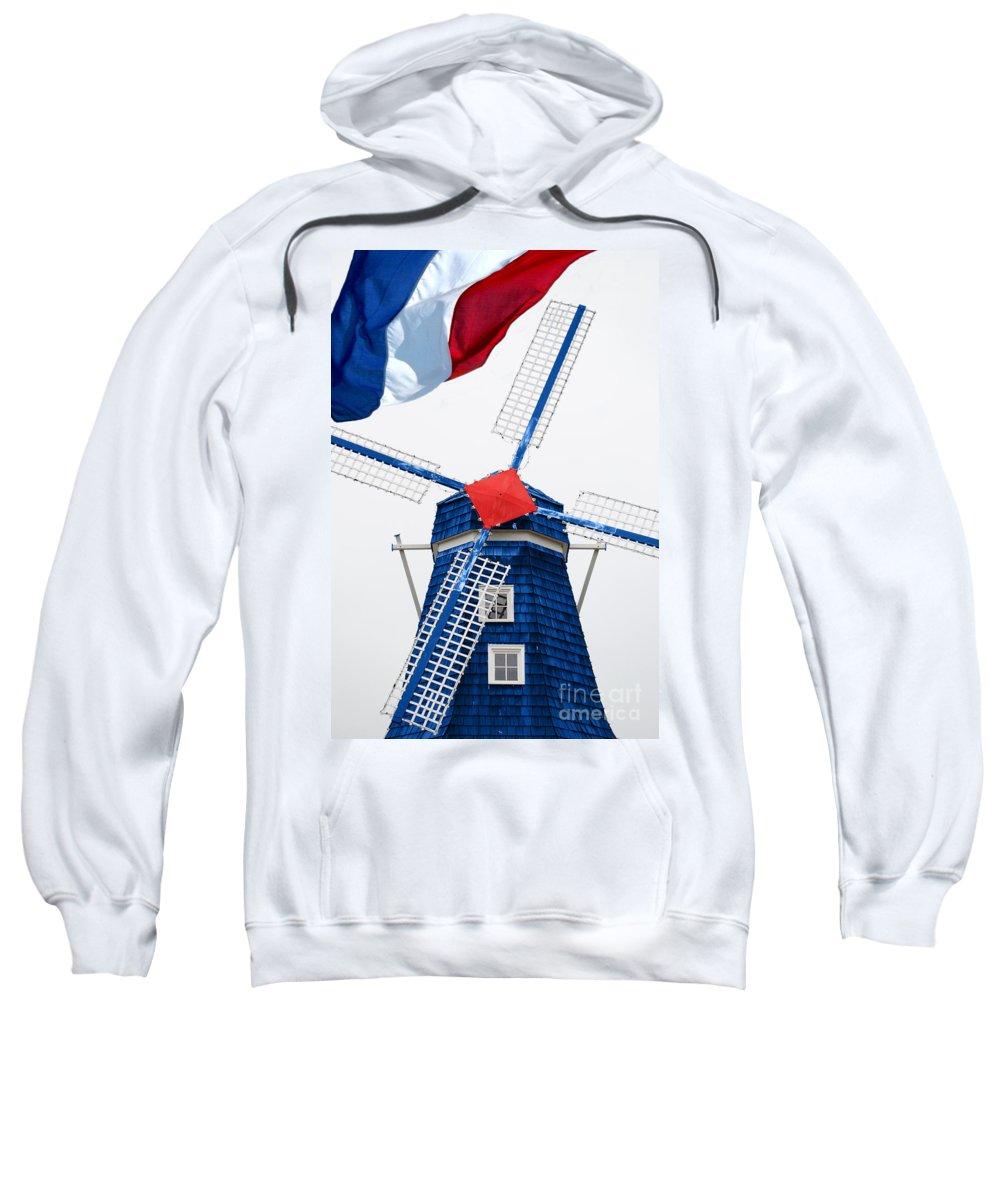 Netherland Sweatshirt featuring the photograph Netherland Windmill by Jost Houk